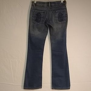 Womens Diesel Lowky Bootcut Jeans Size 27